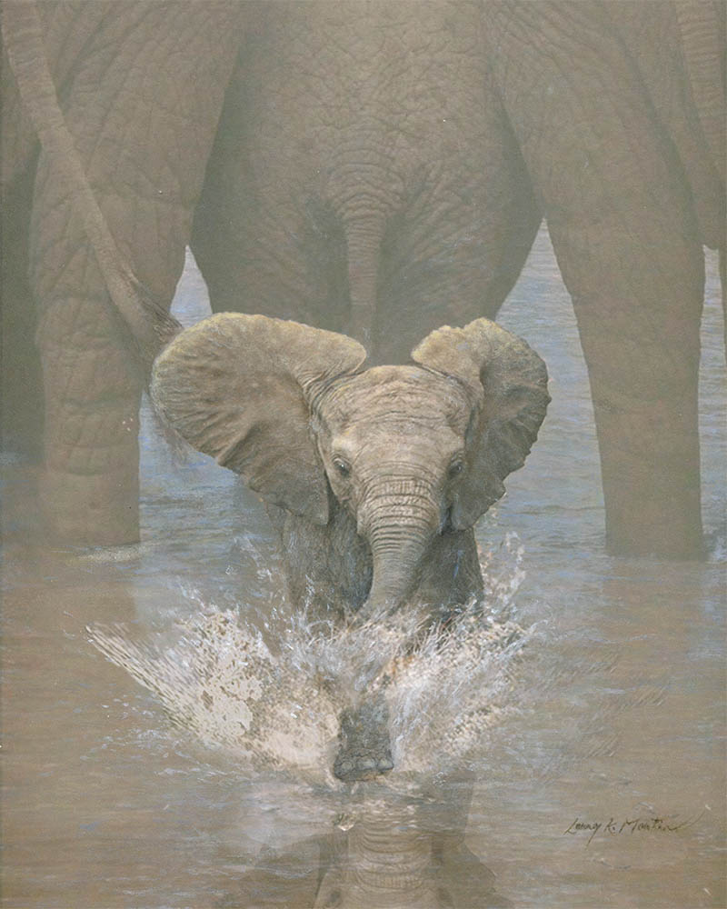 """Just A Nominal Charge"" Baby Elephant"