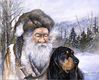 Mountain Man by Larry K Martin
